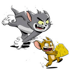 Tom and Jerry by Serchz