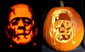 Frankenstein's Pumpkin by Kamose