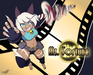 Ms.Fortune FanArt by BeowolfGaming
