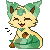 Leafeon Cat icon by Silverwolf020
