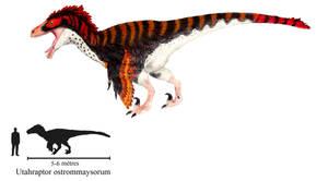 Utahraptor ostrommaysorum by ZeWqt