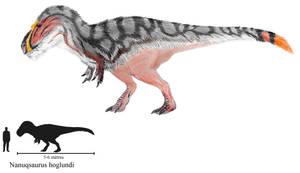 Nanuqsaurus hoglundi by ZeWqt