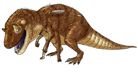 We have a T. rex... sort of... by ZeWqt