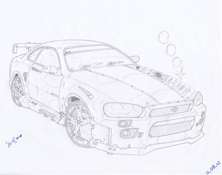 Nissan R34 Skyline Gtr By Hepz14 On Deviantart