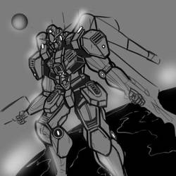 Mobile suit G by Jchan1464