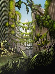 New York Tropical City by NievesDOS