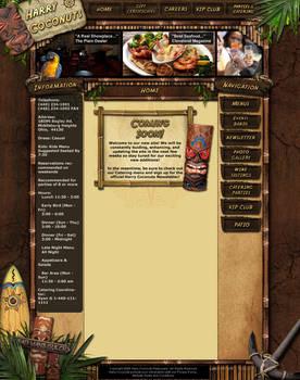 Harry Coconuts Restaurant WIP by ImmoRtalMedia