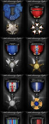 101st Gaming Clan Medal Set by ImmoRtalMedia