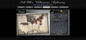 Civil War Reenacting Layout by ImmoRtalMedia