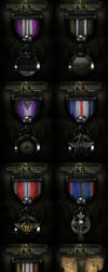 Hollowground Clan Medal Set by ImmoRtalMedia