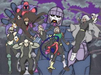 X-Men (in EVO future style) by Aquiliris