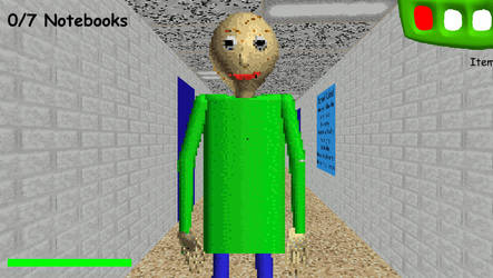 Baldi's Basics PC Baldi by danytatu