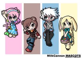 Milk Friends by neooki23