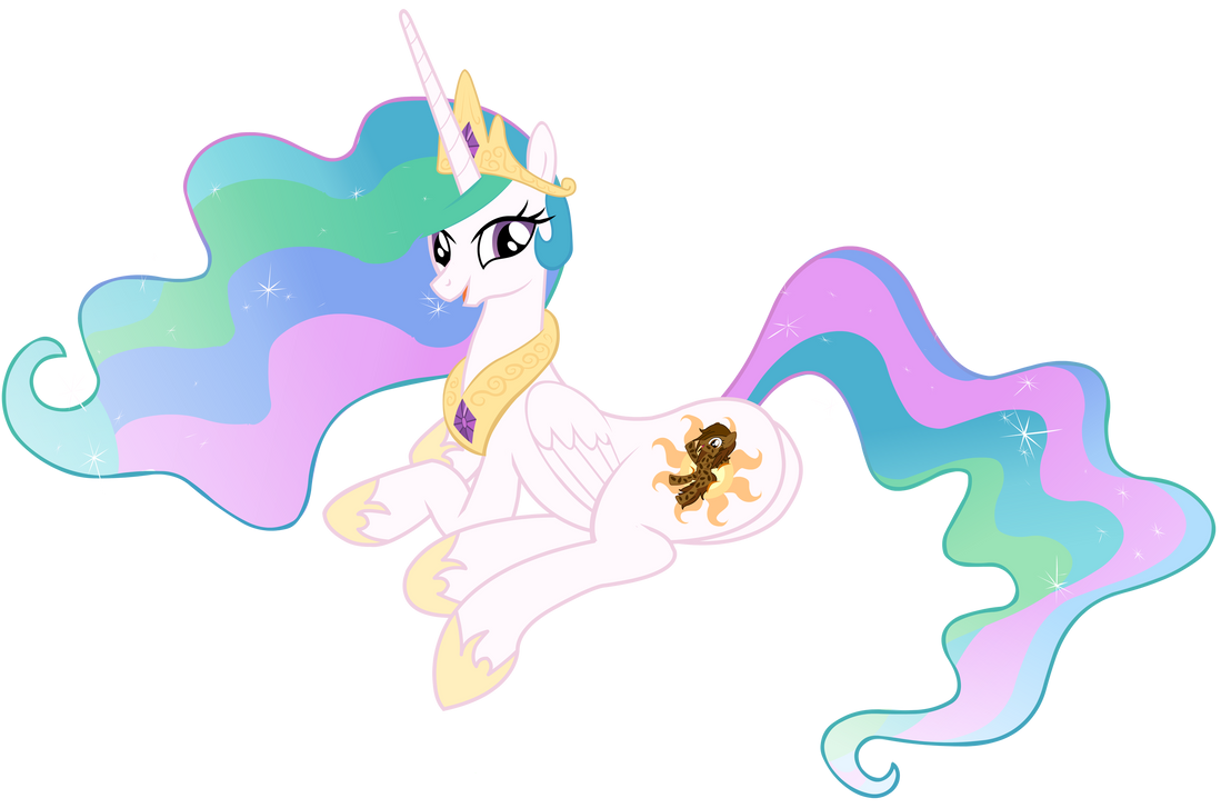Mlp Celestia Laying Down Wwwtopsimagescom