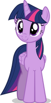 Quickly Vectored Twilight Sparkle by CutesieArt