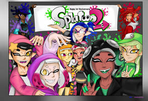 Anniversary of Splat2n by LegendGodsHTF