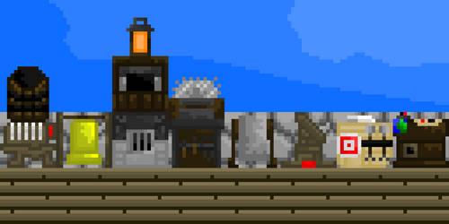Minecraft 1.14 Blocks by ClothierEdward
