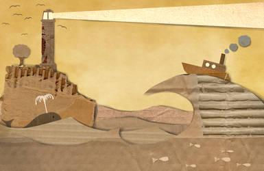 Cardboard World by Jish-G
