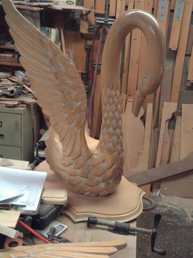 broken wing swan by specialoftheweek