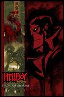 Hellboy Animated poster by hyperjack08