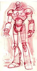 Wolverine: Sentinel rough by hyperjack08