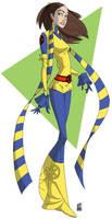 Wolverine: Kitty by hyperjack08