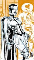 Tomorrow Woman Sketch by hyperjack08