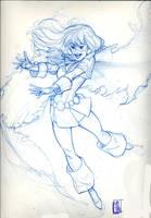 Flamebird sketch by hyperjack08