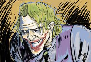 joker movie sketch by hyperjack08