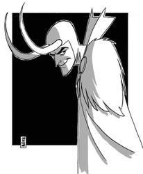 Loki Digital Sketch by hyperjack08
