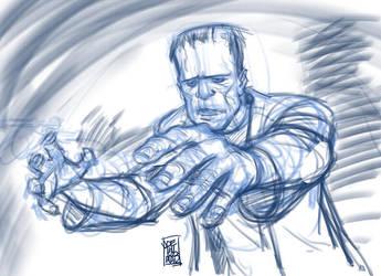 Frankenstein DSC by hyperjack08