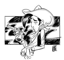 Lucky Luke DSC by hyperjack08
