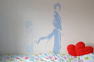 That Butler, Wall Painting by Novazure