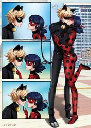 Kiss by LifeJoyArt
