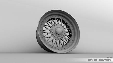 BBS Wheel by gn3Ddesign