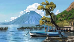 Boat Lake Mountain by EDC-ART