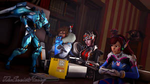 (SFM) Gaming Buddies! by TheSovietHeavy