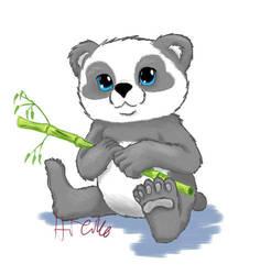 Babby panda by Hieiko