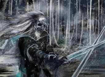 White Walker Game of Thrones by digitalArtistYork