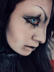 Demonio close up by AmanadaCroix