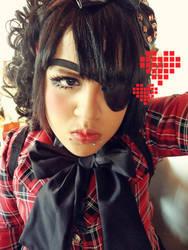 EyePatch Lolita by AmanadaCroix