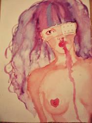 Nosebleed by AmanadaCroix
