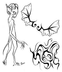 Dragon... Goat... Human Thing? by Jazzmane