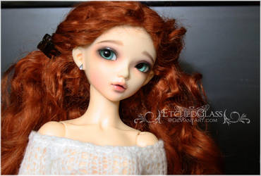 Caidy's New Curls by etchedglass