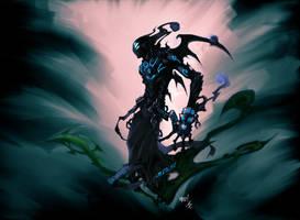 Darksiders: The Watcher by azraeltodd