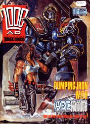 2000ad cover circa 1988 by LiamSharp