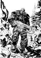 GEARS OF WAR by LiamSharp