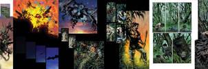 Batman pages by LiamSharp