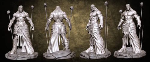 Short swords Conan sculpt by LiamSharp