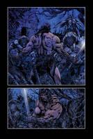 barbarian comic page 01 by LiamSharp